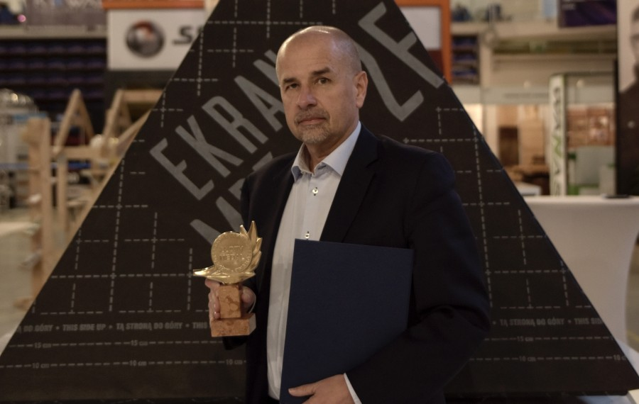 powiększ zdjęcie: Gold Medal of the Subcarpathian Construction Market for Ekran MPFort 2F