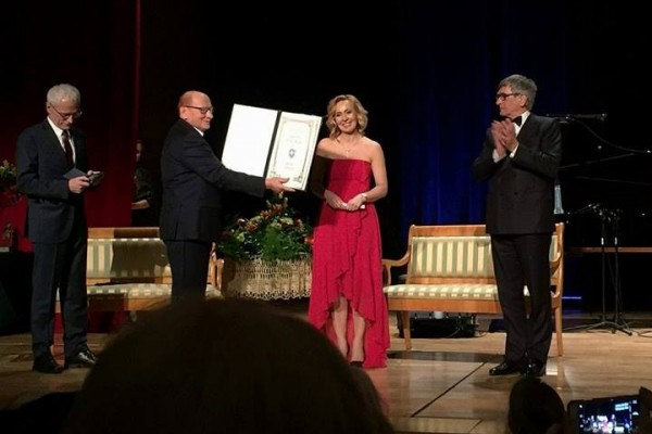Marta Półtorak is an Honorary Citizen of Rzeszów