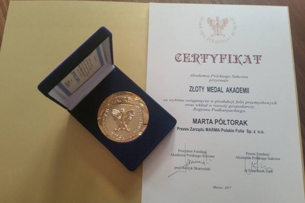 Gold Medal of the Polish Success Academy