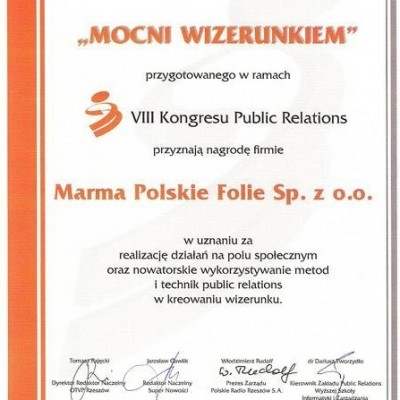 Marma Polskie Folie STRONG IN IMAGE!